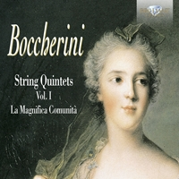 Boccherini: String Quintets, Vol. I