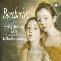 Boccherini: String quintets, Vol. II