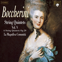 Boccherini: String Quintets, Vol. V