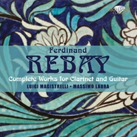 Rebay: Complete Music for Clarinet & Guitar
