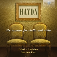Haydn: Six Sonatas for Violin and Viola