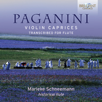 Paganini: Violin caprices transcribed for flute