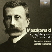 Moszkowski: Complete Music for Piano Four Hands