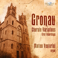 Gronau: Chorale Variations for Organ