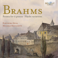 Brahms: Sonata for 2 Pianos and the Haydn Variatons