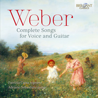 Weber: Complete Songs for Voice and Guitar