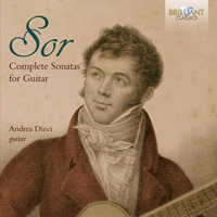 Sor: Complete Sonatas for Guitar