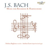 J.S. Bach: Music for Recorder & Harpsichord