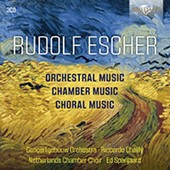 Rudolf Escher: Orchestra, Chamber and Choral Music