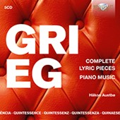 Quintessence Grieg: Complete Lyric Pieces, Piano Music