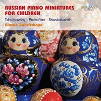 Russian Piano Miniatures for Children