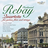 Rebay: Quartets for guitar, flute and strings