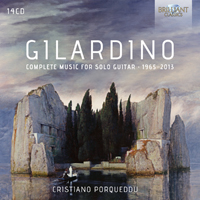 Gilardino: Complete Music for Solo Guitar 1965 - 2013
