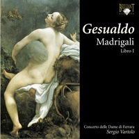 Gesualdo: Madrigals book I