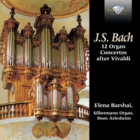 J.S. Bach: 12 Organ Concertos after Vivaldi