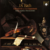 J.S. Bach: Concertos for 2, 3 & 4 harpsichords