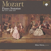 Mozart: Piano Sonates K. 311, K. 330 and K. 331