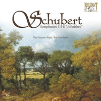 "Schubert: Symphonies No. 3-5-8 ""Unfinished"""