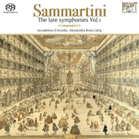 Sammartini: Late Symphonies Vol. I