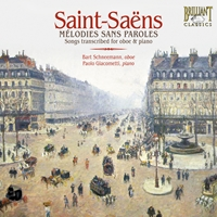 Saint-Saëns: Melodie sans Paroles