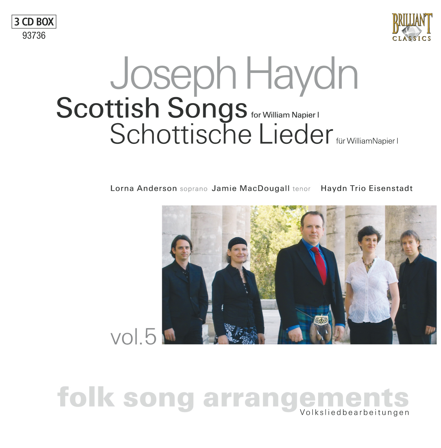 Haydn: Folksong Arrangements Vol. 5