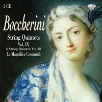 Boccherini: String Quintets, Vol. IX