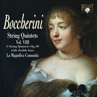 Boccherini: String Quintets, Vol. VIII