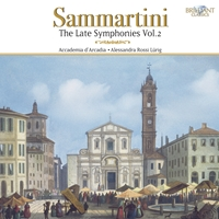 Sammartini: The Late Symphonies Vol. 2