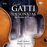 Gatti: Six Sonatas for Violin & Viola