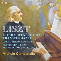 Liszt: Studies and transcriptions