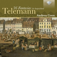 Telemann: 36 Fantasies for Harpsichord