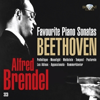 Beethoven: Alfred Brendel Favourite Piano Sonatas
