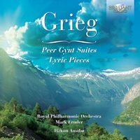 Grieg: Peer Gynt Suites and Lyric pieces