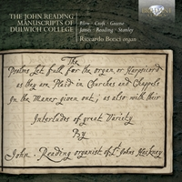 The John Reading Manuscripts of Dulwich College