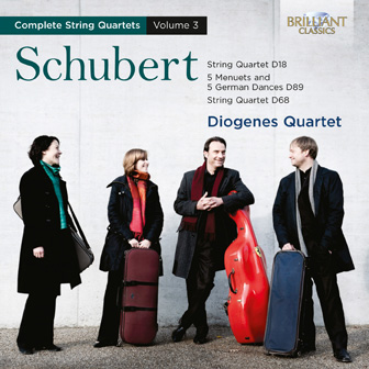 Schubert: String Quartets, Vol. 3