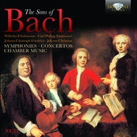 The Sons of Bach: Symphonies, Concertos, Chamber Music