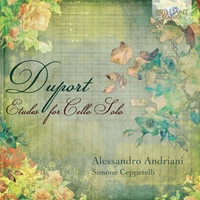 Duport: Etudes for Cello Solo