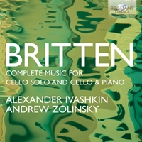 Britten: Complete Music for Cello Solo and Cello and Piano
