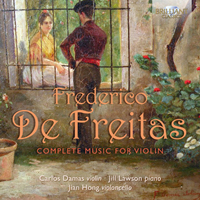 De Freitas: Complete Music for Violin