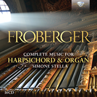 Froberger: Complete Works for Harpsichord and Organ