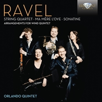 Ravel: Arrangements for Wind Quintet