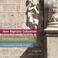 Cabanilles: Complete Vocal Music