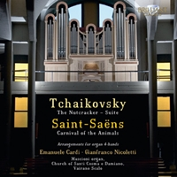 Tchaikovsky & Saint-Saëns: Arrangements for Organ 4-Hands
