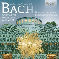 C.P.E. Bach: Sonatas for Harpsichord and Violin