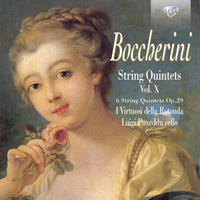 Boccherini: String Quintets Op.29, vol. X