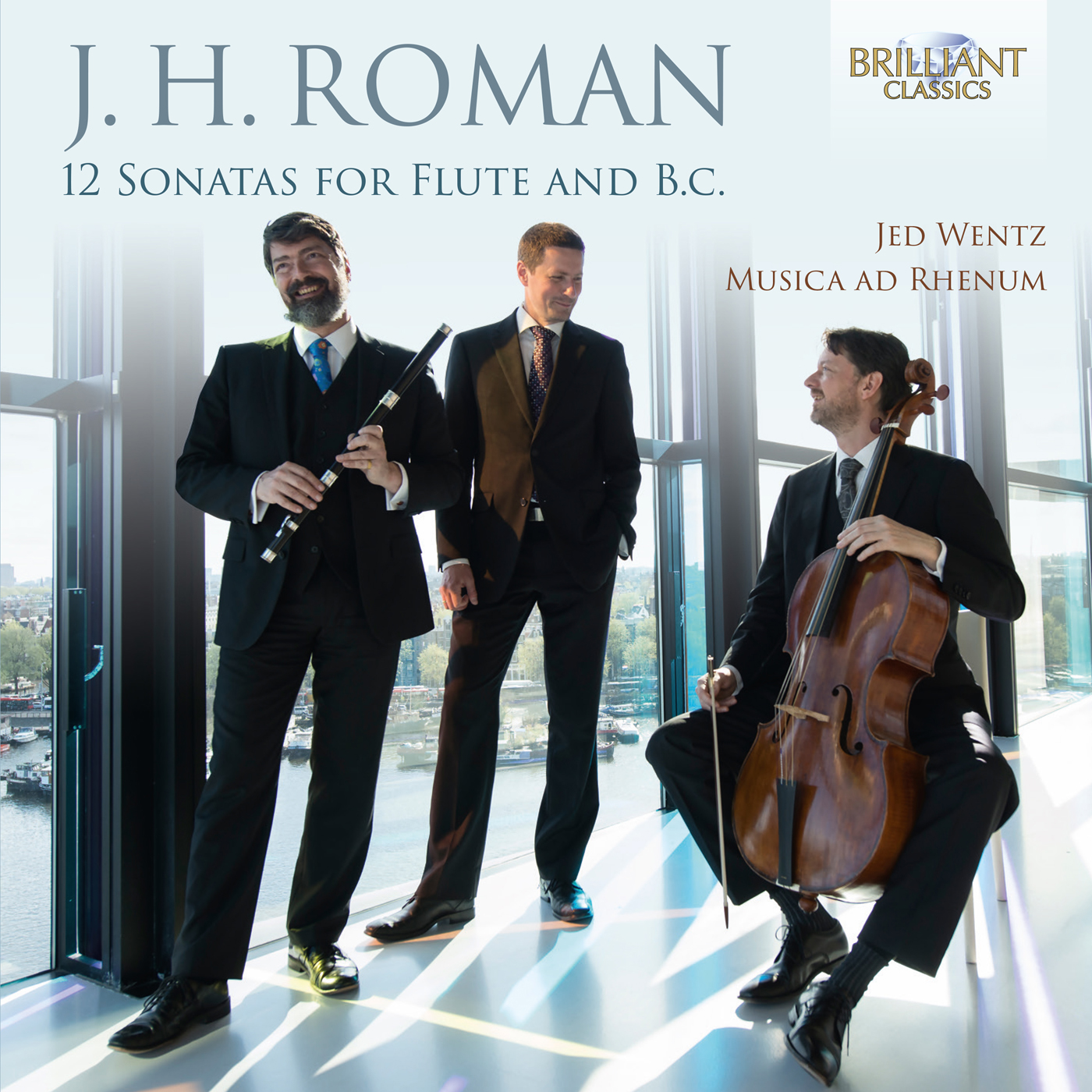 J.H. Roman: 12 Sonatas for Flute and B.C.