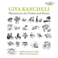 Giya Kancheli: Miniatures for Violin and Piano
