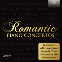 Romantic Piano Concertos