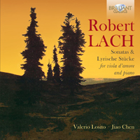 Robert Lach: Sonatas & Lyrische Stücke for Viola d'Amore and Piano