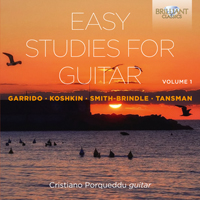 Easy Studies for Guitar, Volume 1